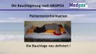 Patienteninformation - Die Bauchlage neu definiert!